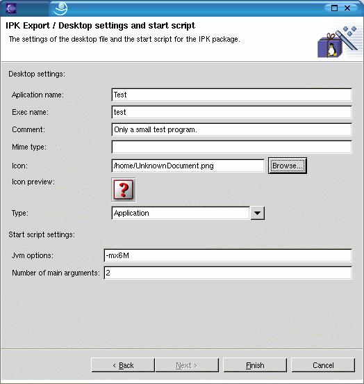 Einstellungen Desktop-Datei